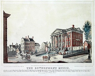 Government House (New York City) Mansion built in 1790 by New York State