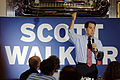 Governor of Wisconsin Scott Walker at Joey's Diner in Amherst New Hampshire on July 16th 2015 by Michael Vadon 18.jpg