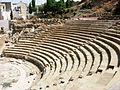 Gradas del Teatro romano de Málaga.JPG