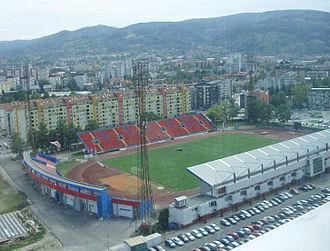 FK Borac Banja Luka - Banja Luka City Stadium in September 2012.