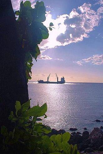 Grande Comore - Grande Comore Harbor Bay.