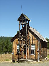 Granite Oregon ghost town 2008.jpg
