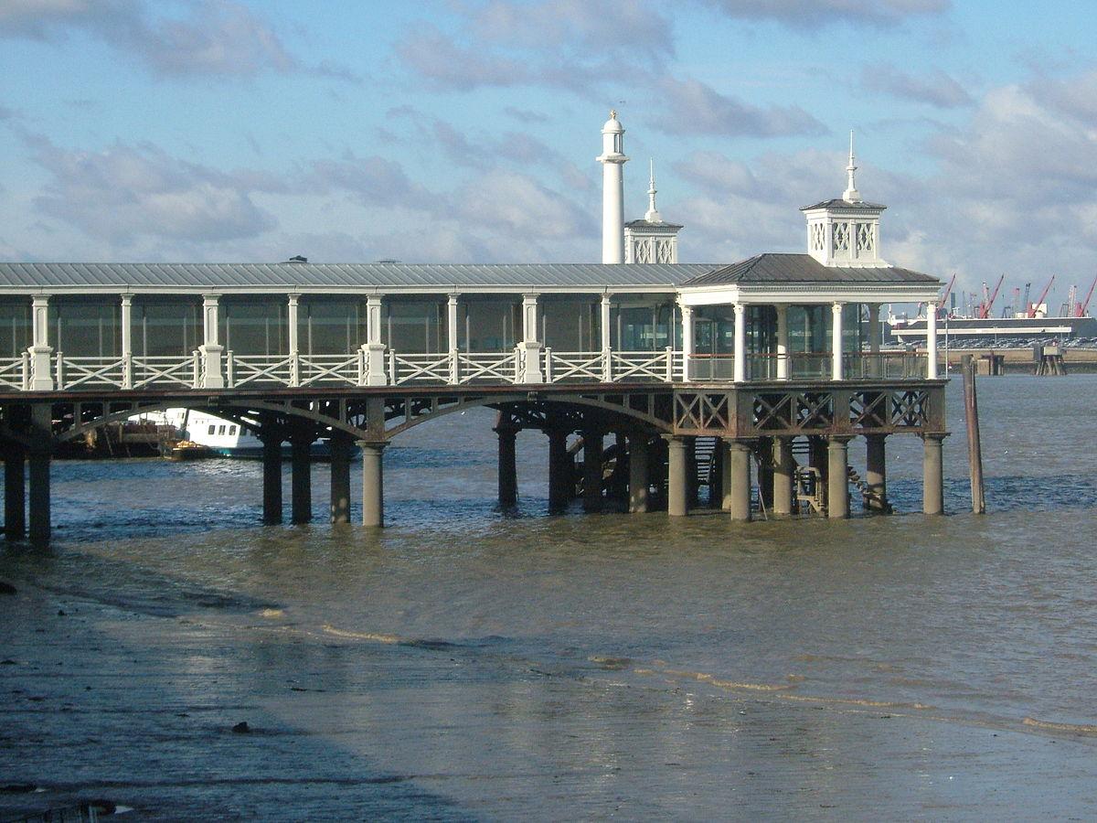 Town Pier, Gravesend -...