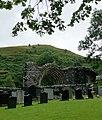 Graveyard and abbey arch at Strata Florida, Ceredigion - geograph.org.uk - 2003822.jpg