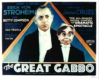 Sono Art-World Wide Pictures - Original theatrical poster for The Great Gabbo (1929) distributed by Sono Art-World Wide Pictures