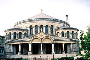 History of the Greeks in Baltimore - Greek Orthodox Cathedral of the Annunciation, April 2006.
