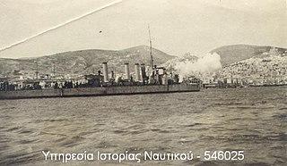 Greek destroyer <i>Leon</i> (1912) Wild Beast-class destroyer