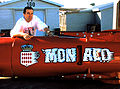 Greg Speirs with his Monaco bobsled (bottom).jpg