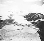 Grewingle Glacier, terminus of valley glacier, circa 1970 (GLACIERS 6527).jpg