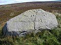Grey Crag - Boundary Stone - geograph.org.uk - 537409.jpg
