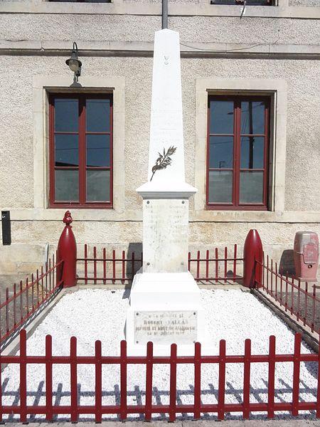 Grimaucourt (Meuse) monument aux morts