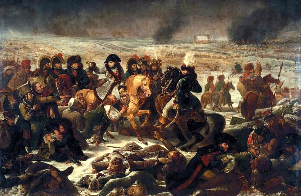 Gros - Napoleon on the Battlefield of Eylau