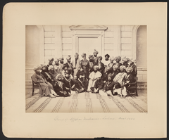 Group of Afghan Durbaries in Lahore, December 1880 WDL11461.png