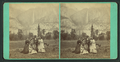 Group of tourists, with Yosemite Falls as backdrop, from Robert N. Dennis collection of stereoscopic views.png