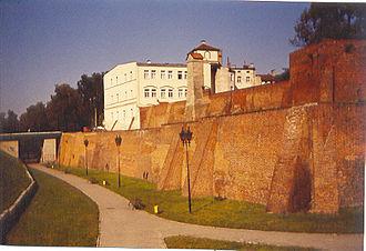 Grudziądz - City walls of Grudziądz, the southern side, 14th/15th century
