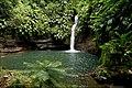 Guadeloupe - cascade sur la rivière Tambour.jpg
