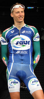 Guillaume Levarlet French road bicycle racer