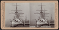 """Gun boat """"Boston,"""" Brooklyn Navy Yard, from Robert N. Dennis collection of stereoscopic views.png"""