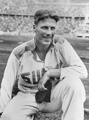 Gunnar Höckert - Gunnar Höckert at the 1936 Olympics