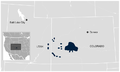 Gunnison Grouse Centrocercus minimus distribution map.png