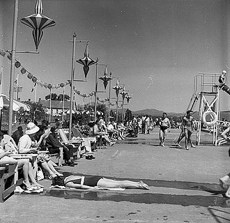 Butlins - The Butlins camp at Pwllheli in 1961