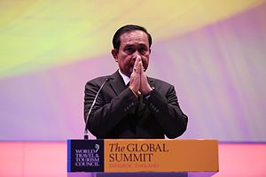 Prayut Chan-o-cha - Prayut Chan-o-cha, WTTC Global Summit, 2017