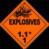 Class 1.1: Explosives
