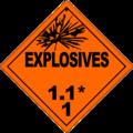 HAZMAT Class 1-1 Explosives.png