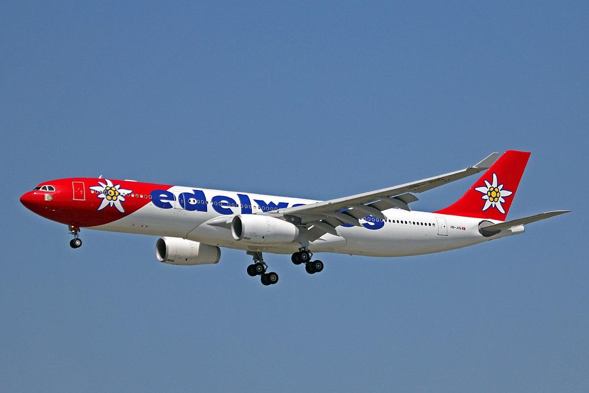 edelweiss air � wikipedia