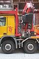HK 上環 Sheung Wan 永樂街 Wing Lok Street 機動式起重吊車 crane vehicle July 2019 IX2 02.jpg