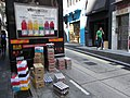 HK Central Saunton Street VitaminWater logistic trucker Oct-2012.JPG
