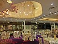 HK Jordan 港景峰 Victoria Tower mall night 煌府酒家 Palace Restaurant hall interior 9-Apr-2013.JPG