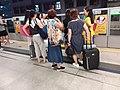 HK MTR 觀塘站 Kwun Tong Station 月台 platform visitors June 2019 SSG 02.jpg