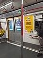 HK MTR train interior ads Don Don Donki December 2020 SS2 02.jpg