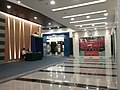 HK SWCC 上環文娛中心 Sheung Wan Civic Centre Lecture Hall n Theatre Hall lobby interior night August 2016 Samsung Tab 003.jpg