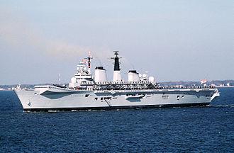 Anti-submarine warfare carrier - Image: HMS Invincible (R05) Norfolk