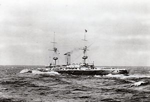 Royal Sovereign-class battleship - Image: HMS Royal Sovereign (1891 ship)