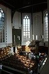 haarlem - waalse kerk vanaf orgelgalerij