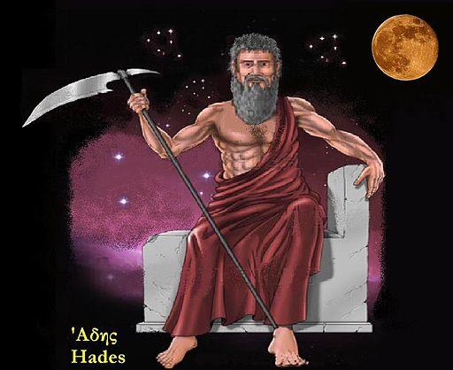 Hades, the underworld god