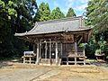 Haiden of Shimizumine-jinja shrine.JPG