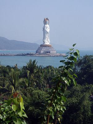 Guanyin of Nanshan - Image: Hainan Sanya 2
