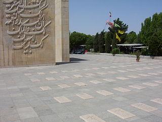 Behesht-e Zahra cemetery in Tehran