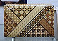 Hakone Yosegi Zaiku box - Hakone Checkpoint Exhibition Hall - Hakone no Seki (barrier station) - Hakone, Japan - DSC06052.jpg
