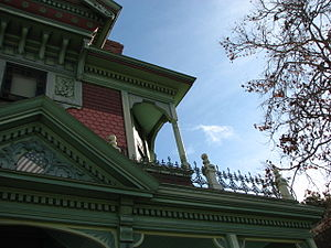 Hale House - Close up on right side