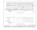 Half a Longitudinal Section, Half a Longitudinal Elevation - Covered Bridge, Spanning Contoocook River, Hopkinton, Merrimack County, NH HABS NH,7-HOP.V,2- (sheet 2 of 4).png