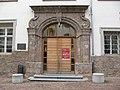 Hall in Tirol, Eingang VS am Stiftsplatz.JPG