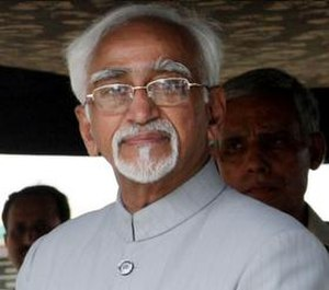 2008 in India - Image: Hamid ansari