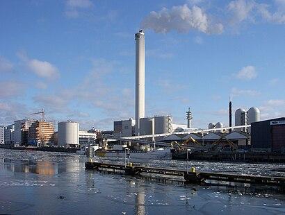 Vägbeskrivningar till Hammarbyverket med kollektivtrafik