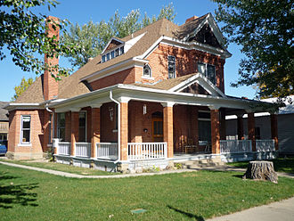 National Register of Historic Places listings in Custer County, Montana - Image: Harmon House