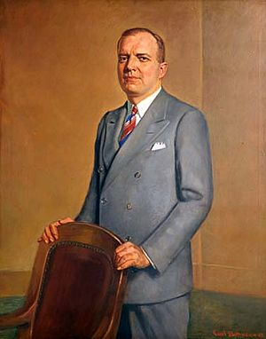 Harold Stassen - Harold Stassen, as Governor